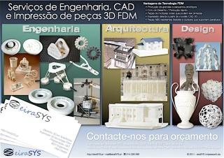 Serviço de Impressão 3D FDM