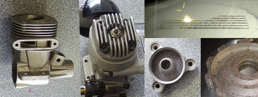 DMLS - Sinterização directa de metal a laser